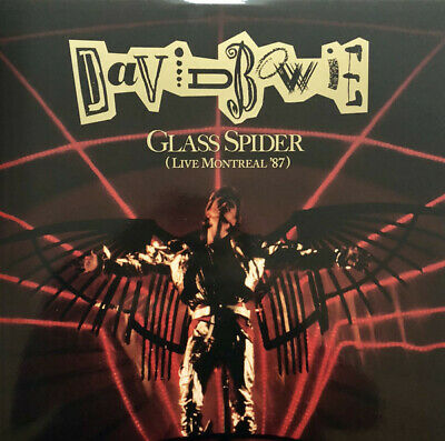 TRIPLE LP DAVID BOWIE From Loving the alien box set GLASS SPIDER Live Montreal
