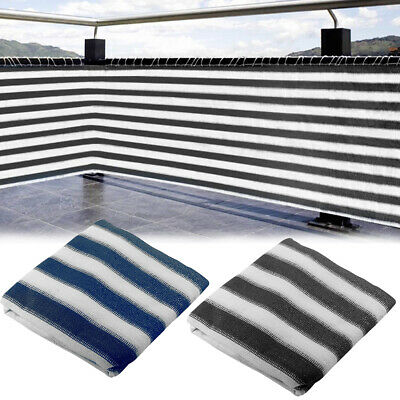 Fence Privacy Netting Screen Heat Resistant Striped Pool Ventilated 5M