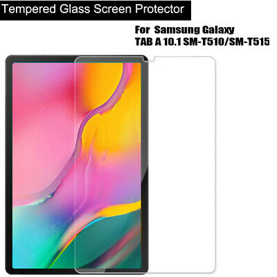 "Tempered Glass Screen Protector For Samsung Galaxy Tab A 10.1""  T515/T510 2019"