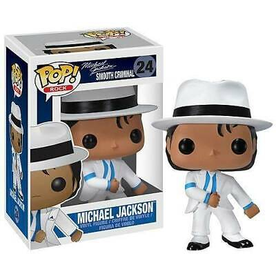Funko Pop MICHAEL JACKSON Vinyl Figure 24# SMOOTH CRIMINAL White Suit Model 10cm
