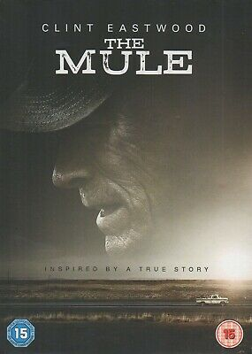 The Mule Dvd - Clint Eastwood - New And Sealed - With Free Clint Eastwood Stamp