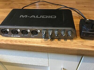 M Audio Fast Track Ultra 8 In 8 Out Simultaneous Channels USB Audio Interface