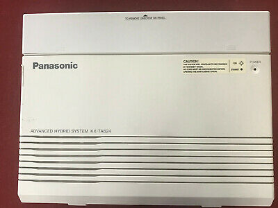 Panasonic KX-TA624 Advanced Hybrid System 3x8 | Used | Perfect for home or offic