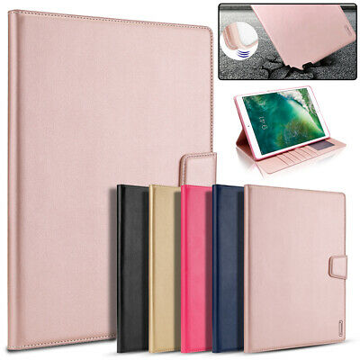 For Apple iPad Mini 4 3 2 1 5th 2019 PU Leather Shockproof Card Holder Flip Case