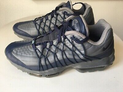 MENS NIKE AIR Max Ultra 95 Se GreyBlue Trainers Size 7 Uk Running Shoes 2017