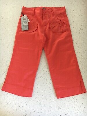 Brotes Girls Coral Crop Trousers Age 10 BNWT (€24.90!)