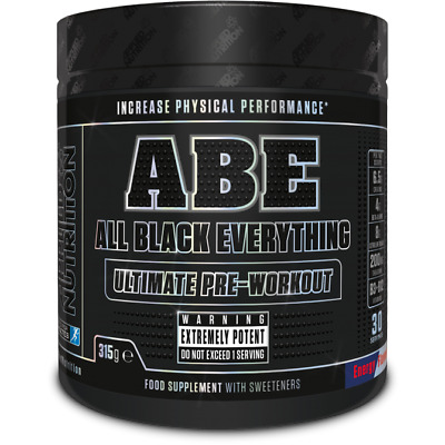 Applied Nutrition ABE Ultimate Pre Workout All Black Everything 315g 30 Servings