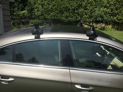 Complete Thule Aero Bar Roof Rack W Fit Kit 3039 For Bmw 3 Series