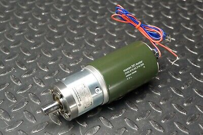 Maxon 2260.815-55.216-200 DC Brush Motor with 4.5:1 Gear Reduction