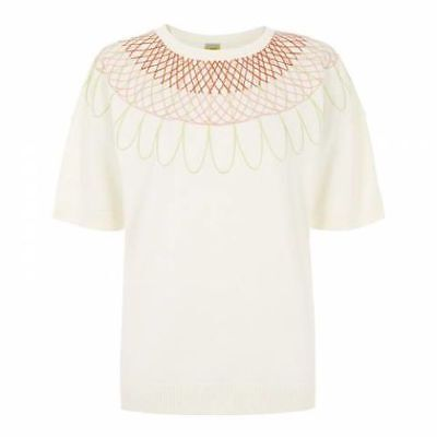 Various Sizes RRP £99. Hobbs Rosa Warm Ivory Sweater
