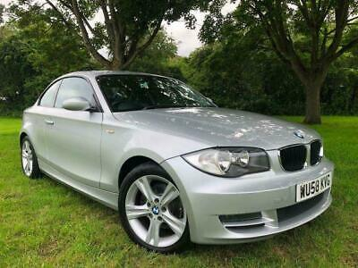 2008 58 BMW 120d SE Coupe FULL LEATHER 9 SERVICES CLEAN CAR