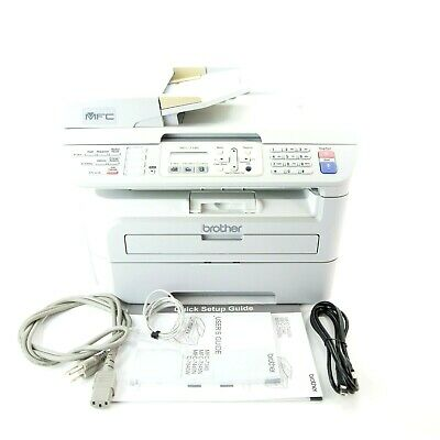 BROTHER MFC-7340 ALL-IN-ONE Monochrome Laser Printer Scanner Copier Fax