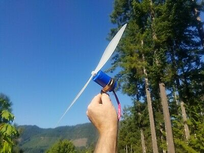 Wind Turbine Charger Blue Edition 12 Volt Power System