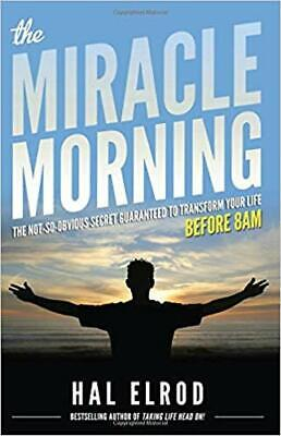 The Miracle Morning By Hal Elrod (E-BooK,PDF,2012) ⚡ Fast Delivery ⚡
