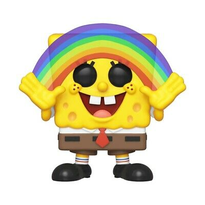 Funko Pop Spongebob Squarepants Spongebob with Rainbow #558 39552 | MINT