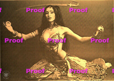 VINTAGE Hollywood Starlet SHOW GIRL BELLY Dancer Photo Photograph REPRINT 26