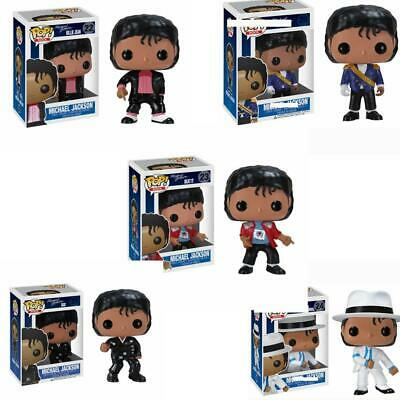 Funko POP Michael Jackson Vinyl Figure 22# 23# 25# BEAT IT BILLIE JEAN BAD 10cm