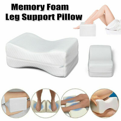 Knee Wedge Leg Pillow w/ Cover - Orthopedic Support Cushion for Knee F5