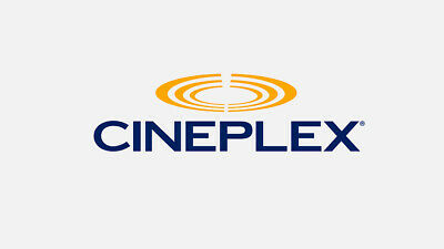5 Cineplex General Admission Digital Codes, Expires Nov 30, 2019