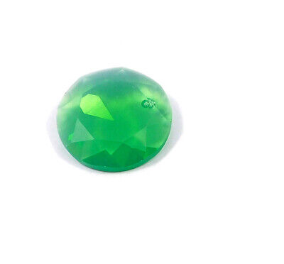 29 Cts. Natural Faceted Green Chalcedony Cut Gemstone AAK1372