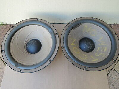 Pair of Realistic Mach One 15 Inch Woofer Speakers