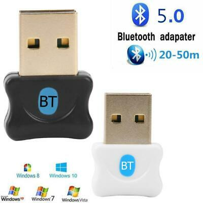 Bluetooth 5.0 USB 2.0/3.0 Dongle Adapter Audio Receiver for WIN XP VISTA 7 8 10