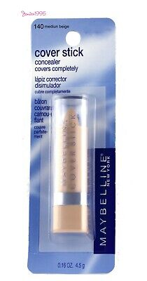 MAYBELLINE Cover Stick Concealer Covers Completely #140 MEDIUM BEIGE