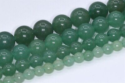Natural Green Aventurine Beads Grade AAA Round Loose Beads 3/4/6/8/10/15MM