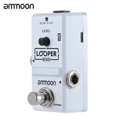 ammoon Nano Loop Electric Guitar Effect Pedal Looper 10 Min Record New N2I2