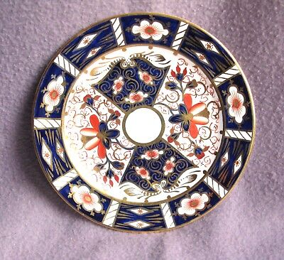 Antique Victorian Crown Derby Imari Coloured Porcelain Side Plate C.1890