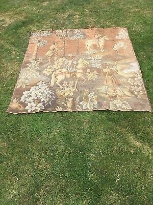 Very Large Old Hanging Tapestry French