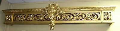 Regency Carved Giltwood Window Pelmet by D.J.McLauchlan, London