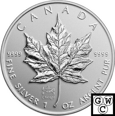 2014'ANA Privy-Mark Silver Maple Leaf Bullion' $5 Silver .9999 Fine 1oz(14013)NT