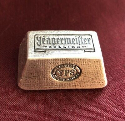 """5oz Yeagermeister Bullion """"Truncated Pyramid"""" by Yeager's Poured Silver - 999+"""