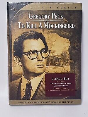 To Kill a Mockingbird (DVD, 2005, 2-Disc Set, Special Edition - Widescreen) New