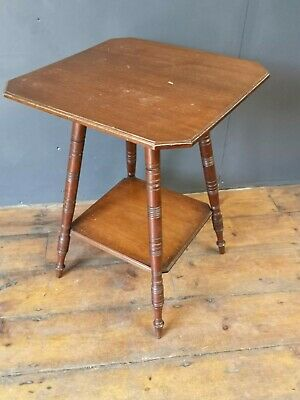 George Maddox antique Arts and Crafts Victorian Parlour/ Gypsy Table Bobbin