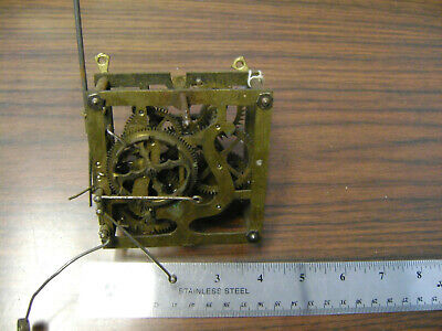 Antique Cuckoo clock movement for parts of restoration