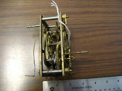 Antique Cuckoo clock movement for parts or restoration
