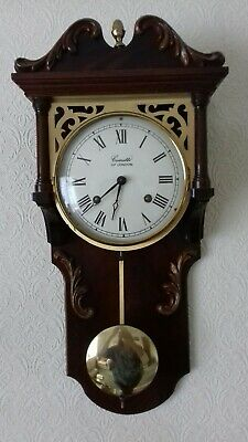 Clock:Beautiful Quality Made By Comitti Of London Pendant Wall Clock with Key