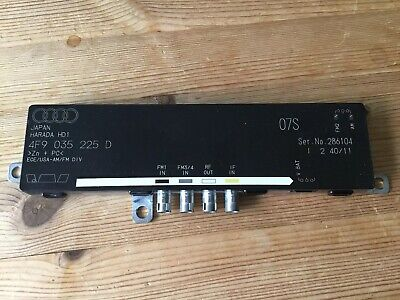 Audi A6 C6 Radio Antenna Aerial Receiver Amplifier Booster 4F9035225D