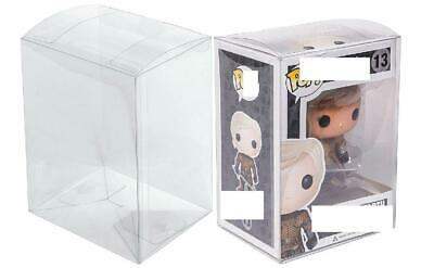 "3pcs Transparent protection box Funko Pop Protector Case for4""inch Vinyl Figures"