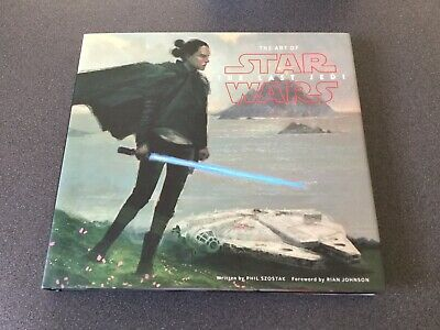 The Art Of Star Wars Signed Books - The Last Jedi & Solo