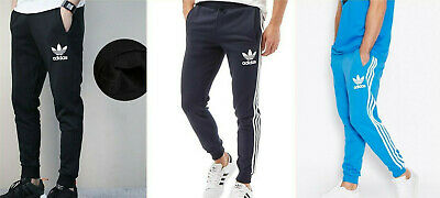 Adidas Originals Men's Spo Fleece TrefoilTracksuit Bottoms Sports Joggers S-XL