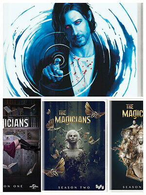 The Magicians Season 1-4 DVD Box Set Complete TV Series Collection 1,2,3,4 New