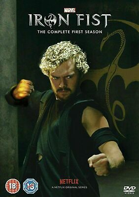 Marvel Iron Fist Season 1 Complete Collection DVD Box Set First TV Series New UK