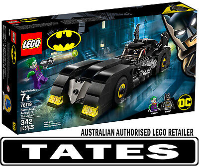 LEGO 76119 Batmobile™: Pursuit of The Joker™ DC Super Heroes from Tates Toyworld