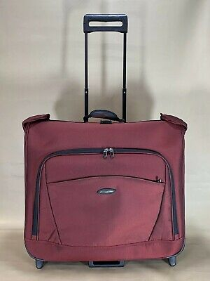 Briggs & Riley Transcend Rolling Garment Bag TDU373 Sunset Red