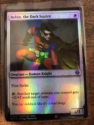 Bruce Wayne Robin Batman Marvel Magic The Gathering MTG card Planeswalker