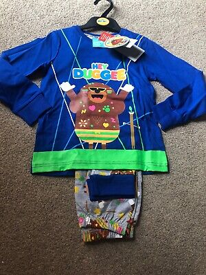 Tu Clothing Hey Duggee Stick Badge Rave Pyjamas 5-6 Years