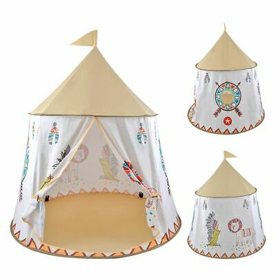 Indian Teepee Wigwam Childrens/Kids Play Tent Lionet Play House Out/Indoor Gifts